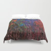 woodland Duvet Covers featuring Woodland by Stephanie Cole CREATIONS