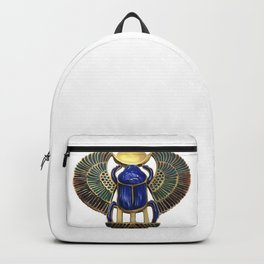 Painted Egyptian Necklace Backpack