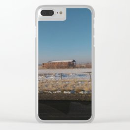 I-84 Barn Clear iPhone Case