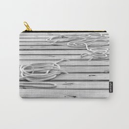 dock, black and white Carry-All Pouch
