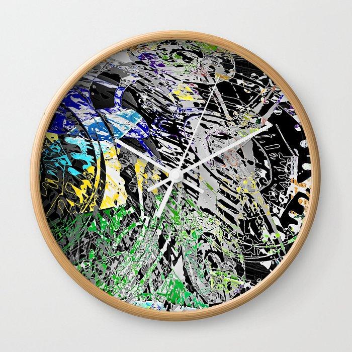 Graffundi Wall Clock