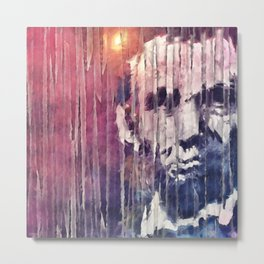 President Abraham Lincoln Abstract Metal Print