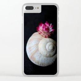 Hermit flower Clear iPhone Case