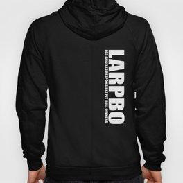LARPBO Classic White Hoody
