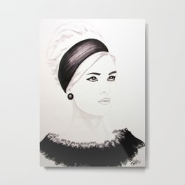 Attached Metal Print