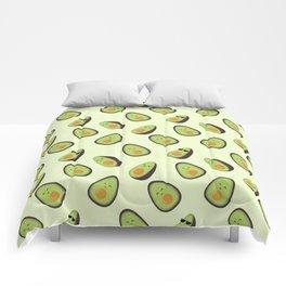 Happy Avocados Comforters