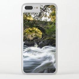 River Llugwy Clear iPhone Case