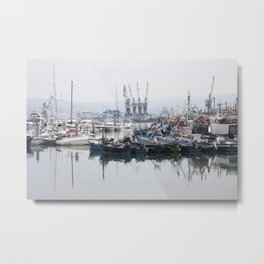 Tangier Docks Metal Print