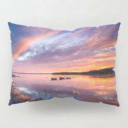 Sunset in French Village, Nova Scotia Pillow Sham