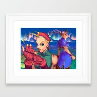 mean girls Framed Art Prints featuring Mean Girls by VGPrints