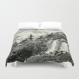 Mount Assiniboine Duvet Cover