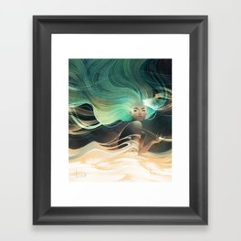 Aurorae Framed Art Print