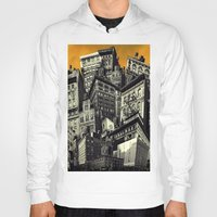 cityscape Hoodies featuring Cityscape by Chris Lord