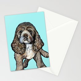 Lego the Cocker Spaniel Stationery Cards
