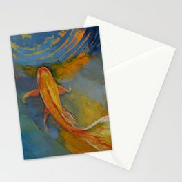 Butterfly Koi Stationery Cards
