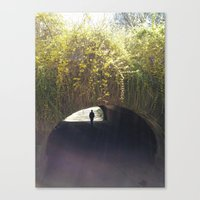central park Canvas Prints featuring Central Park by Erin Payne
