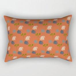 Onion Balloons on Fire Rectangular Pillow