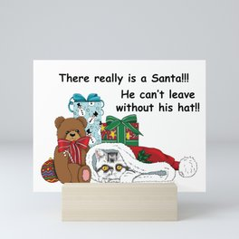 I Believe in Santa Mini Art Print