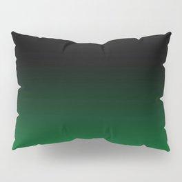 Green Ombre Pillow Sham