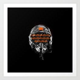 Space War Art Print