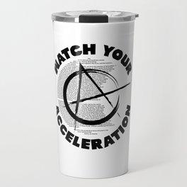 Watch your acceleration Travel Mug
