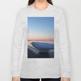 Icebergs on the Beach Long Sleeve T-shirt