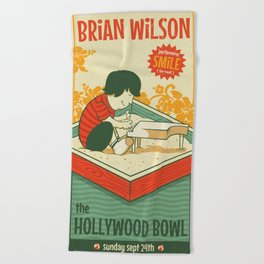 Smile Live at the Hollywood Bowl Beach Towel