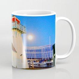 Summerside Harbour lighthouse Coffee Mug