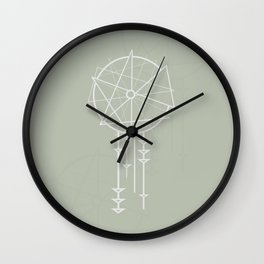 Sweet Dreams (Green) Wall Clock