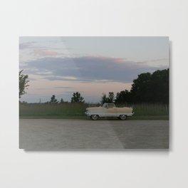 Nash Metropolitan at Sunset Metal Print