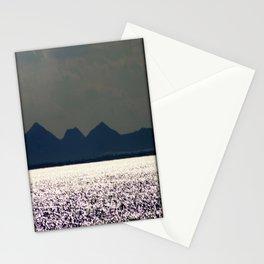Glitter across the Bay Stationery Cards