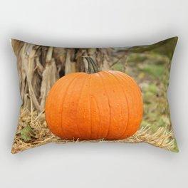 Pumpkin and the leaf Rectangular Pillow