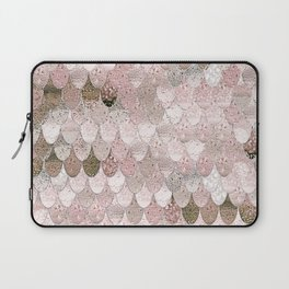 SUMMER MERMAID NUDE ROSEGOLD by Monika Strigel Laptop Sleeve