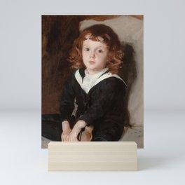 "John Singer Sargent ""Portrait of Laurence Millet"" Mini Art Print"