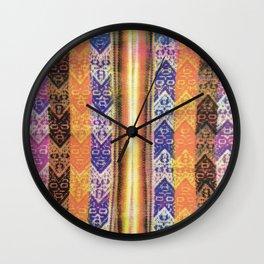 Repurposed Purse Wall Clock