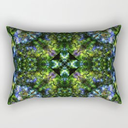 Project 130.1 - Abstract Photomontage Rectangular Pillow