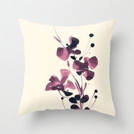Organic Impressions 334zs by Kathy Morton Stanion Throw Pillow