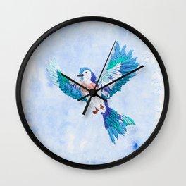 Hoopless: Fly Away Wall Clock