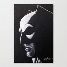 DARK HERO WATCHING Canvas Print