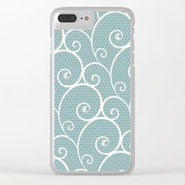 Pearls Clear iPhone Case