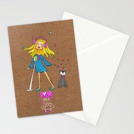 Dogs Are Joy Stationery Cards