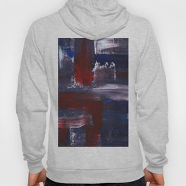 Abstract Acrylic Brush Strokes Hoody