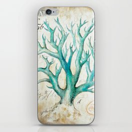 Blue Coral No. 2 iPhone Skin