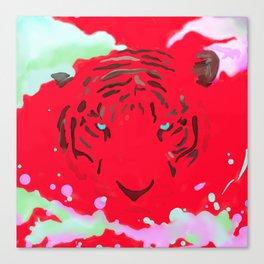 虎 (Tiger) Canvas Print