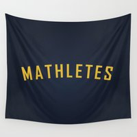mean girls Wall Tapestries featuring Mathletes - Mean Girls movie by AllieR