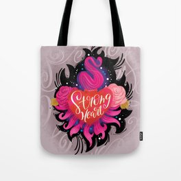 Strong Heart Tote Bag