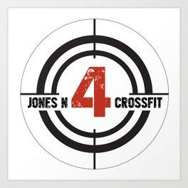 JN4 Target Art Print