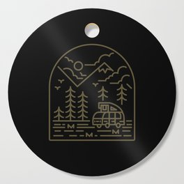 Into the Mountain Cutting Board