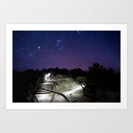 Night Explorer Art Print