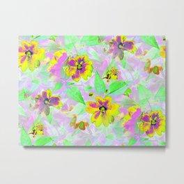 Flower Bonanza Metal Print